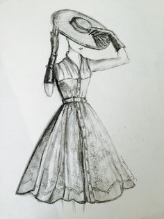 ❤️Dior # kara kalem#drawing