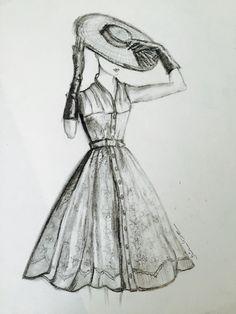 ❤️Dior # kara kalem#drawing