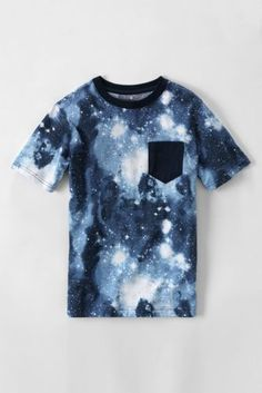 Boys' Short Sleeve Print T-shirt from Lands' End