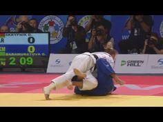 Uchi mata / Kouchi gari - Skrypnik (BLR) v Babamuratova (TKM) -52kg - YouTube