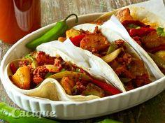 Chorizo potato picadillo