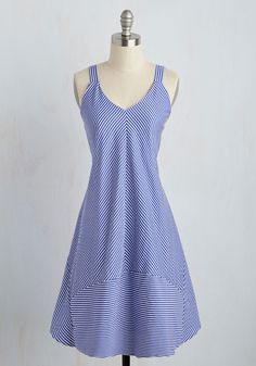 Go Through the Oceans Dress, @ModCloth