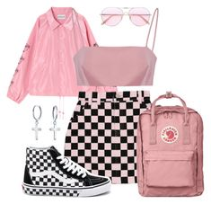 """"""""""" by katielizabethxo ❤ liked on Polyvore featuring Oliver Peoples, Vans and Bling Jewelry"""