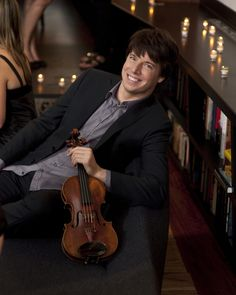 Joshua Bell, my favorite violinist!!...Met him several times after his concerts and he's a great person as well!!....:)