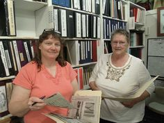 Mother-daughter duo helps put together pieces of family puzzles #genealogy