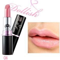 Lioele Dollish Lipstick 04 Flower Pink - L-p-97 - Lioele Lip Makeup - Lioele Point Makeup - Korean