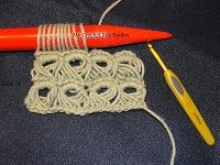 broomstick crochet...I need to get one of those sticky thingies