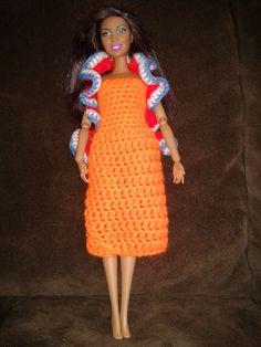 b823ae650b5ccc 27 beste afbeeldingen van haken barbie kleding - Barbie dolls ...