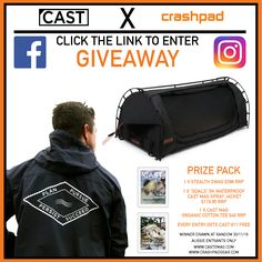 http://castemag.com/giveaways/cast-x-crashpad/?lucky=2220  Cast X Crashpad