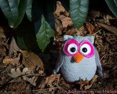 Crochet pattern Lola the owl (US) (PDF) Amigurumi ByLiesenLoes Etsy
