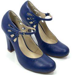 Sapato Boneca em Couro - ZPZ SHOES site sapatos retrô!
