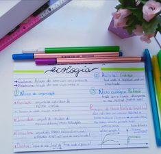 Ecologia Vestibular, Life Is Hard, Bullet Journal, Study, Let It Be, Bedroom, School, Science Activities, Mental Map