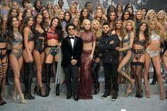Noite passada, Bruno Mars gravou o Victoria's Secret Fashion Show com The Weeknd e Lady Gaga. O desfile vai ao ar dia 5 de Dezembro nos Estados Unidos.