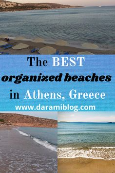 If you want to go to the beach in Athens but are not sure which ones are the best, check out my ultimate guide and pick the best one for you. Here you will find all the info you need! #athens #beachesinathens #visitgreece #islandlikebeaches Travel Guides, Travel Tips, Best Flight Deals, Places Worth Visiting, Water Pictures, Beach Fun, Pretty Pictures, Athens, Are You The One