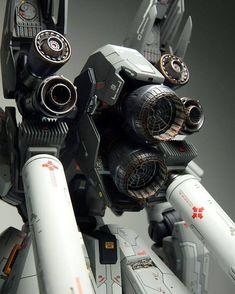 No photo description available. 3d Mode, Surface Modeling, Robots Characters, Gundam Mobile Suit, Gundam Custom Build, Spaceship Design, Gundam Art, Robot Concept Art, Mechanical Design