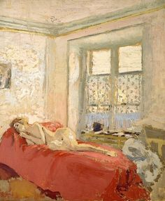 Édouard Vuillard (1868-1940) - Nu couché http://www.christies.com/lotfinder/paintings/edouard-vuillard-nu-couche-5074145-details.aspx