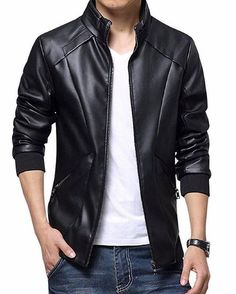 Reposting @me.humayun: Men's Leather Jackets & Coats Leather clothing is liked by men and women since these outfits look fashionable all the year round. The collection of outfits in leather apparel is huge since different styles of jackets and vests can be found. The fashion of wearing leather apparel is growing with each passing day. #mehumayun * * * * * #jacket, #coat, #jeans, #fashion, #style, #love, #me, #cute, #photooftheday, #swagger, #cool, #model, #dope, #liketkit, #streetwear,