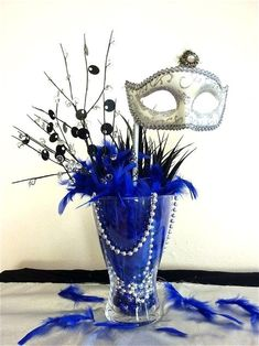 masquerade decorations diy masquerade party theme decorations best of formal par. - FallTrends masquerade decorations diy masquerade party theme decorations best of formal par… Diy Masquerade Decorations, Masquerade Party Centerpieces, Masquerade Party Decorations, Prom Decor, Quinceanera Centerpieces, Balloon Centerpieces, Mardi Gras Centerpieces, Party Table Centerpieces, Sweet 16 Masquerade