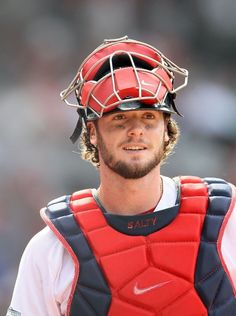 Jarrod Saltalamacchia - Boston Red Sox - Le plus beau de tous ♥ Red Sox Baseball, Baseball Socks, Baseball Players, Mlb Players, Baseball Stuff, Mlb Tickets, Red Sox Tickets, Cheap Tickets, Boston Sports