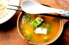 How to Make Miso Soup With Tofu, Bok Choy, and Scallions