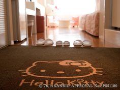 Hello Kitty Room entrance floor