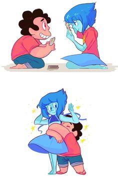 Steven and Lapis // Steven Universe