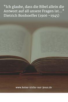 Gottes Wort wirkt. Niemals bleibt die Lektüre der Bibel ohne wohltuende Wirkung.