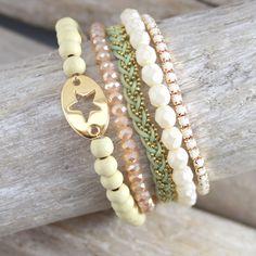 Trendy armbandjes in combinatie met mooie kralen