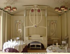 Designed by Charles Rennie Mackintosh in 1901, House for an Art Lover, Glasgow was not built until 90 years later
