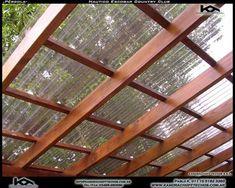 Pergola With Roof Design - Wooden Pergola Architecture - Pergola De Madera Blanca - Fabrication Pergola Bioclimatique Diy Pergola, Pergola Decorations, Small Pergola, Pergola Canopy, Pergola Swing, Pergola Attached To House, Metal Pergola, Deck With Pergola, Cheap Pergola