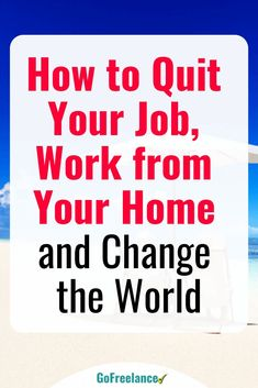 Sick of working a rotten 9-5 job? You don't have to! Here's how you can escape the rat race, work from home, enjoy flexible hours and make great money. Let's face it. Working for someone else totally sucks, right? We get it, but we also understand that yo Work From Home Jobs, Make Money From Home, Way To Make Money, Home Based Business, Business Tips, Online Business, Quitting Your Job, Part Time Jobs, Extra Money