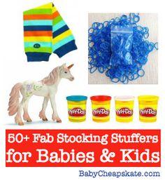 50+ Fab Stocking Stuffer Ideas for Babies & Kids | BabyCheapskate.com