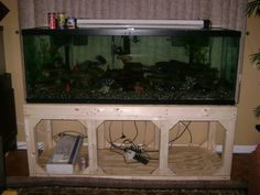 Stand 180 Gallon Aquarium Fish Tank