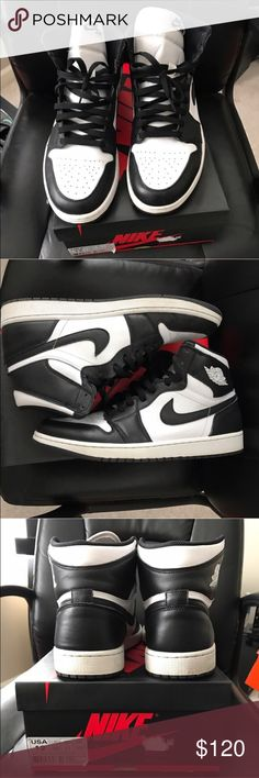 Retro Air Jordan 1 High OG Retro Air Jordan 1 High OG - Size 12 - Condition 8/10 with light creases - additional photos availability upon request - this item comes free smoke free home! Nike Shoes Sneakers