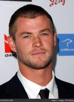 Chris Hemsworth.   Those eyes... <3