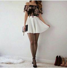 Medias con faldas :)