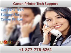 Canon Printer tech Support 1-877-776-6261, for any help and assistance concerning of printer, a customer can avail the facility of Toll Free Canon printer Tech support (+1-877-776-6261) or Canon Printer Support which is available 24 *7. For more details you can visit to our website http://www.monktech.net/canon-printer-technical-support-number.html