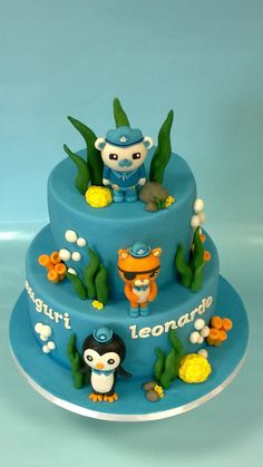 Octonauts cake - The Cake Lovers