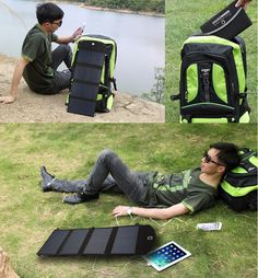 Free Ship SP24 folded Solar Power bank bankup phone Charger Battery Pack bateria Dual USB For tablet Samsung iphone Xiaomi HTC 1. No battery, just solar panel . 2. Dual USB ,Output DC 12V, USB 5V 3. Waterproof design 4 charge 3000mah, only need 1.5 hours Digital Item Battery Capacity Full charger time by Sun ...
