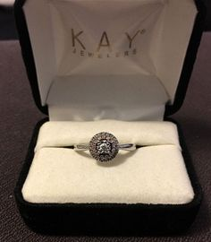 1/5 ct. Diamond Ring in Sterling Silver and Rose Gold