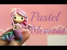 Pastel Mermaid Chibi Polymer Clay Tutorial ɞ
