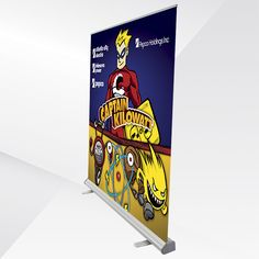 The Lisbon Banner Stand is an extra wide, extra tall marketing display that is perfect as a backdrop in trade show booths, press conferences, and other promotional events. Because it is so large, the Lisbon Banner Stand is especially suitable when your message needs to be seen from a distance.