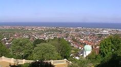 Further up the Hillside Gardens you can see the Nature merging with the town below. (Prestatyn)