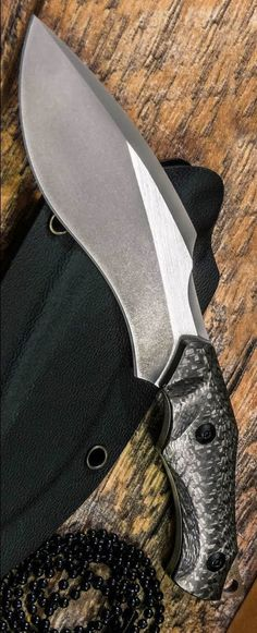 WE Knife Co. Vaquita Fixed Blade Mini Kukri Neck Knife CF. Vaquita is a mini Kukri fixed blade designed for discreet neck carry. This model sports a full-tang S35VN blade with a two-tone satin/stonewashed finish