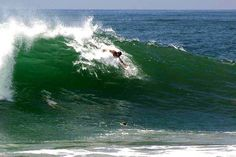 Body Surfing at the Wedge