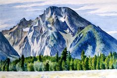 View Mount Moran by Edward Hopper on artnet. Browse upcoming and past auction lots by Edward Hopper. American Realism, American Artists, Manet, Toulouse, Christophe Jacrot, Edward Hopper Paintings, Ashcan School, Belle Villa, Reproduction