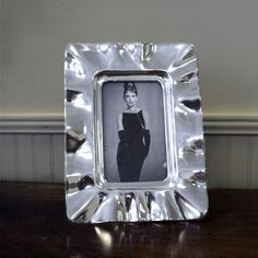 Beatriz Ball VENTO 4x6 inch silver decorative frame - Beatriz Ball Collection available at Eggplant 304.346.3525 www.eggplantshop.com Join us on FB: eggplantshop Twitter: eggplant_abo Instagram: EggplantShop Download the App: Eggplant