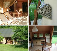 Huis aan de Lot Les Gazailles B&B safaritenten