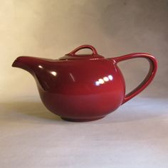 Vernon Kilns Casual California teapot 1950's by thriftsift on Etsy. $28.00, via Etsy.