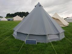 TENTS | Life Under Canvas 5m Canvas Bell Tent Review